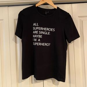Superhero tshirt